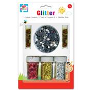 Coloured Glitter & Confetti Set