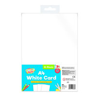 A4 White Card 24 Sheets
