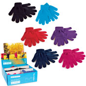 Childrens Thermal Magic Gloves In Display Box