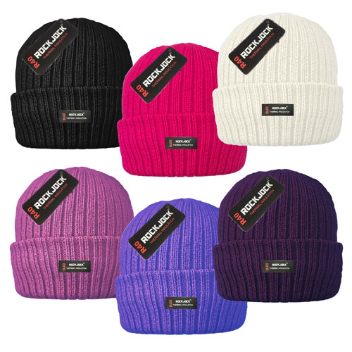 Ladies Thermal Hats with Cosy Lining