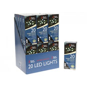 20 Warm White LED Lights