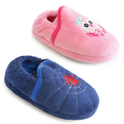 Childrens Spider & Owl Slippers