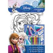 Disney Frozen Colouring Set