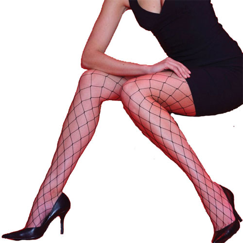 Whale Net Tights Black