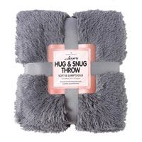 Hug And Snug Throw Charcoal
