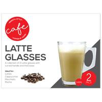 Latte Glasses 2 Pack