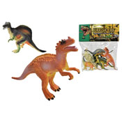 6 Dinosaurs In Large Bag