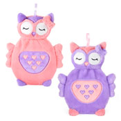 3D Plush Owl Hot Water Bottles
