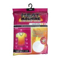 Ladies Short Sleeve Thermal Vest Heat Machine