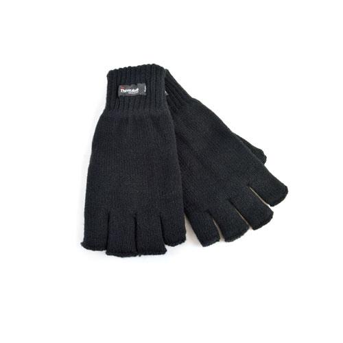 RJM Adult Fingerless Thinsulate Gloves