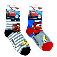Official Disney Cars Boys Socks