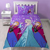Disney Frozen Transparent Reversible Duvet Set