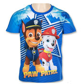Boys Paw Patrol Short Sleeve Printed T-Shirt