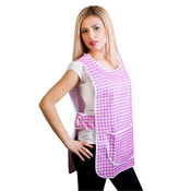 Ladies Tabards with Big Chequered Design