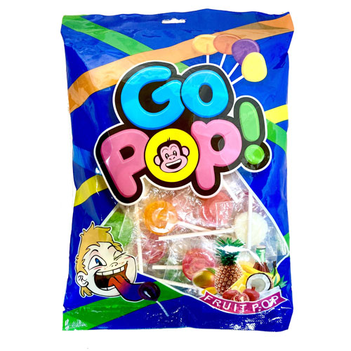 Fruit Flavoured Lollipops Sweets 300g Bag