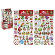 Christmas Elf Vinyl Puffy Stickers