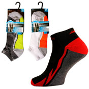 Mens Low Cut Cushion Sports Trainer Socks CARTON PRICE