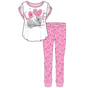 Ladies Tatty Teddy Love Pyjama Set