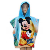Disney Mickey Mouse Towel Ponchos