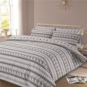 Rewind Grey Duvet Set