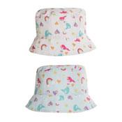 Girls Mermaid Print Bush Hat