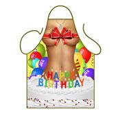 Novelty Apron Happy Birthday Female