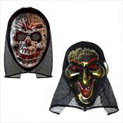 Scream Machine Halloween Hooded Masks
