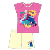 Girls Frozen Shortie Pyjamas