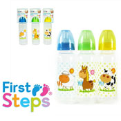 Farmyard Animals Feeding Bottle with Silicone Teat