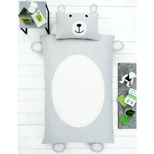Creative Novelty Shaped Duvet Reversible - Teddy Bear