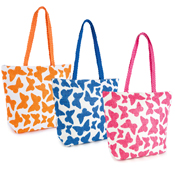 Butterfly Print Beach Bag