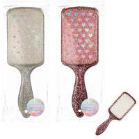 Glitter Paddle Hair Brush