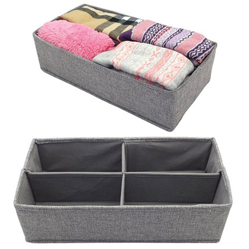 4 Section Drawer Dividers