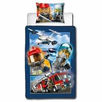 Official Lego City Panel Duvet Set