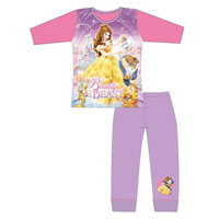 Girls Official Princess Beauty And The Beast Pyjamas