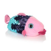 Kids Multi Sequin Fish Slippers