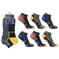 Mens Performax Pro Arch Top Trainer Socks Dark