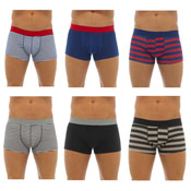 Mens Hipster Trunks 3 Pack