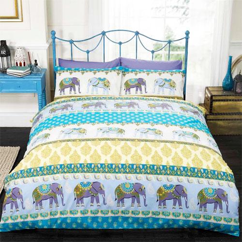 Jaipur Blue Duvet Set