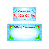Christmas Holly Place Cards 50 Pack