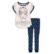 Ladies Disney Tinker Bell Pyjama Set