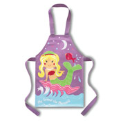 Girls Mermaid Aprons PVC