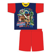 Toddler Boys Toy Story Shortie Pyjamas
