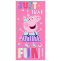 Official Peppa Pig Have Fun Beach Towel