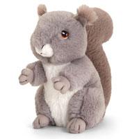 18cm Keel-Eco Squirrel Soft Toy