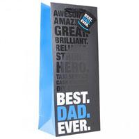 Best Dad Ever Bottle Bag