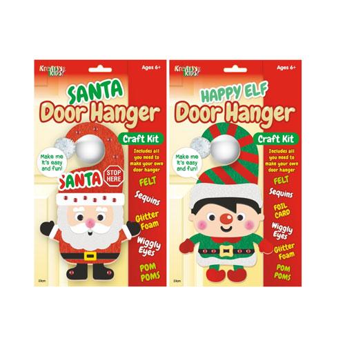 Make Your Own Christmas Door Hanger Craft Kit