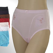 Ladies Mama Briefs Fancy Design