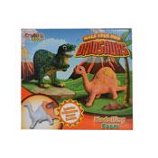 Make Your Own Foam Dinosaur Art Set