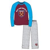 Older Boys Football Pyjama Set West Ham United